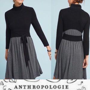 Anthro / MOTH Ballet Knit Sweater Dress Size S